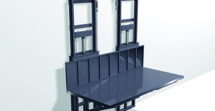 PRH-2 plataformas elevadoras. Montacargas