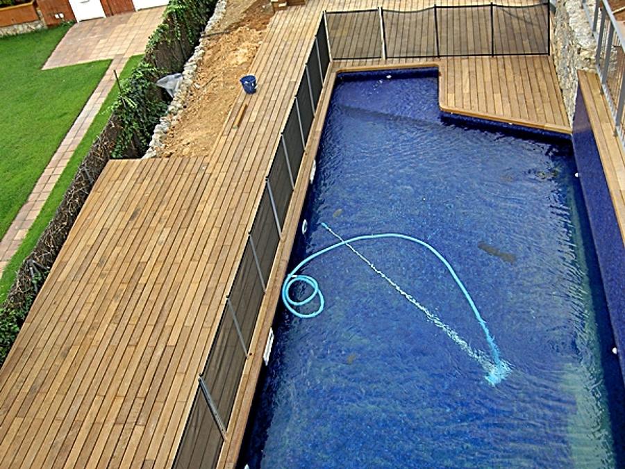 Foto proceso de construcci n de una piscina barcelona de - Construccion de una piscina ...