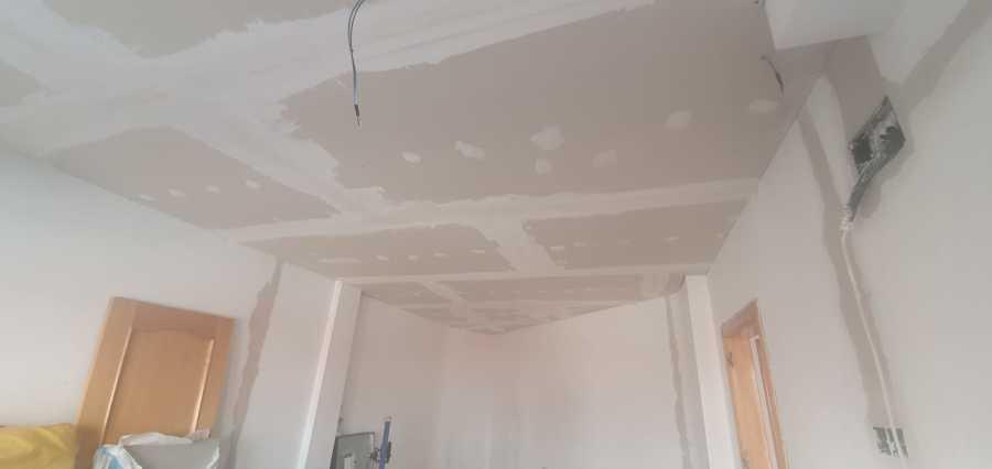 Proceso techo pladur.