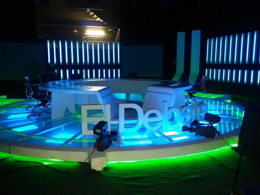 """Programa: """"El Debate"""", de T.V.E. en Canarias"""
