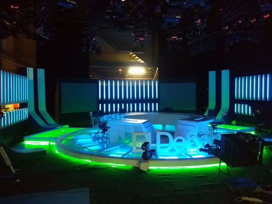 """Programa: """"El Debate"""" de T.V.E. en Canarias"""