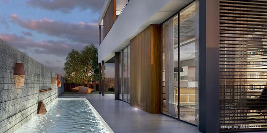 Project Golf, zona piscina.