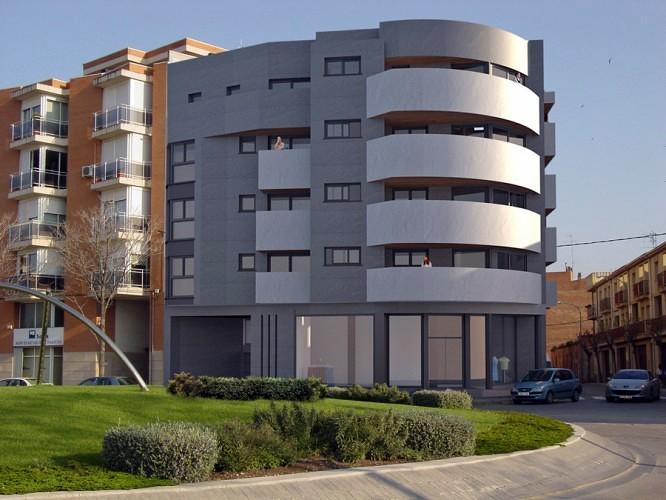 """Projecte d'edifici d'habitatges """"L'Aldada"""", Tàrrega."""
