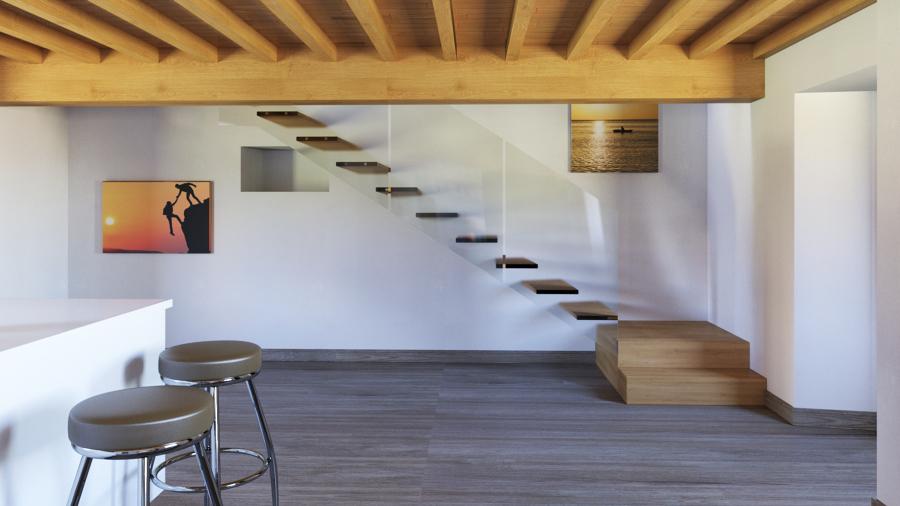 Propuesta de escalera