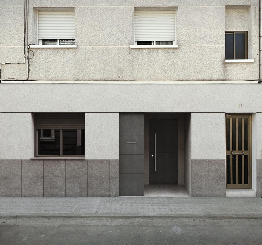 Propuesta de nueva fachada