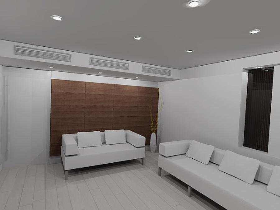 Propuesta de salón en 3D