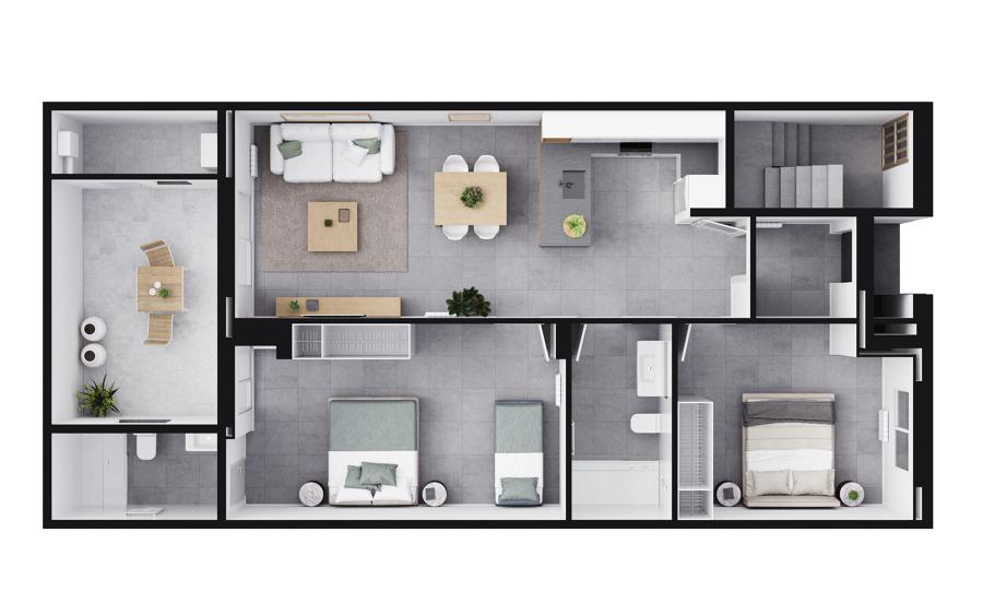Propuesta para implantación de nueva vivienda