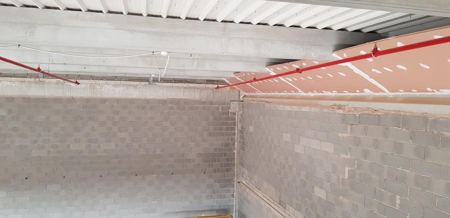 Protección pasiva con paneles cortafuegos