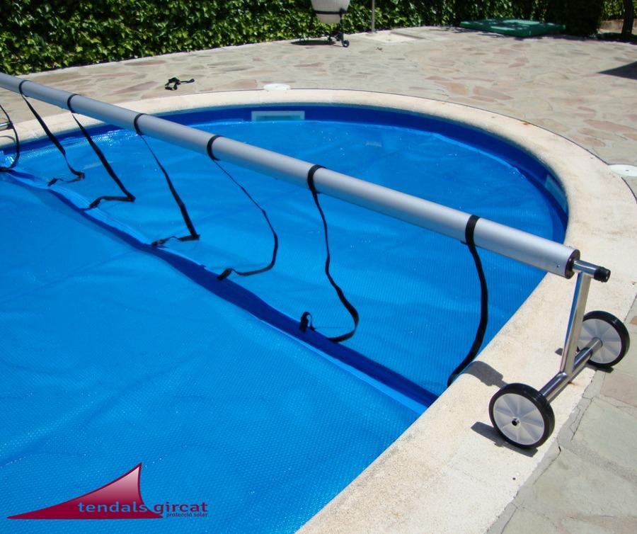 Foto protectores de piscina de tendals gircat 1625916 for Protector para piscina