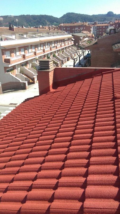 Proyecorch nature tejado proyectado con aislamiento térmico