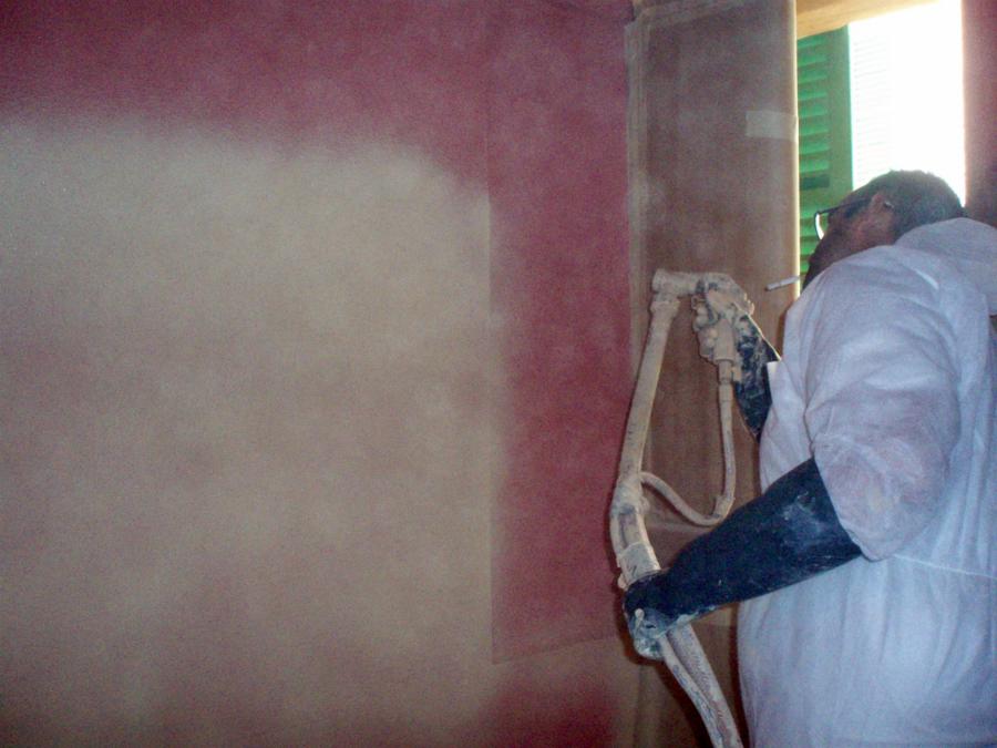 Foto proyectando de balear de construcciones 149191 - Corcho proyectado opiniones ...