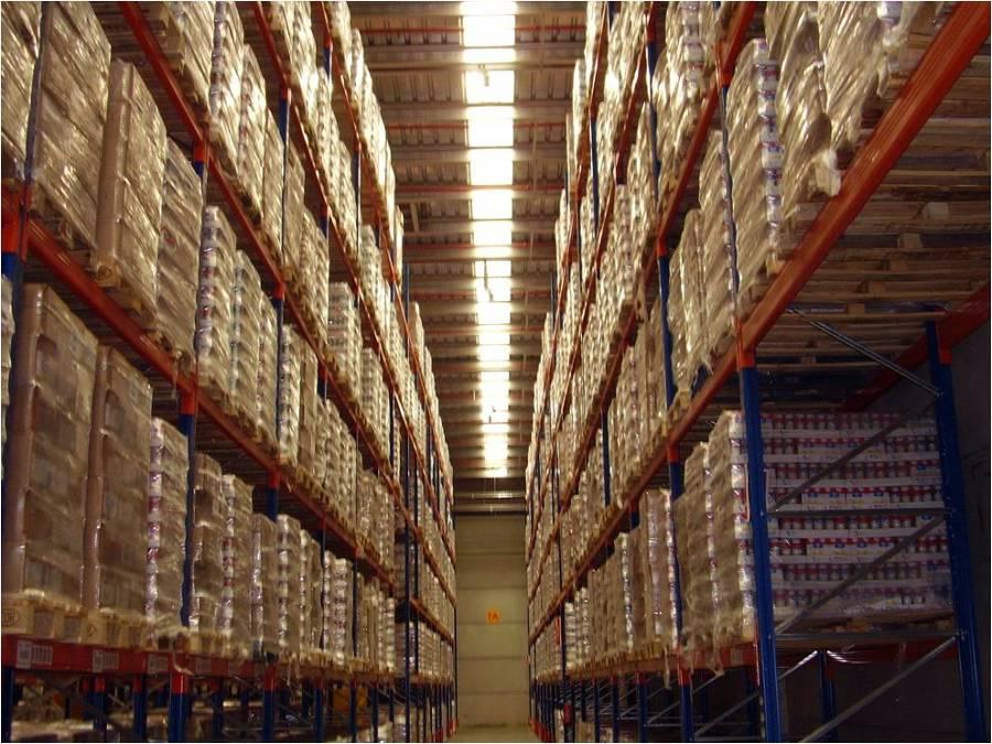Proyecto de actividad de nave almacen logistico