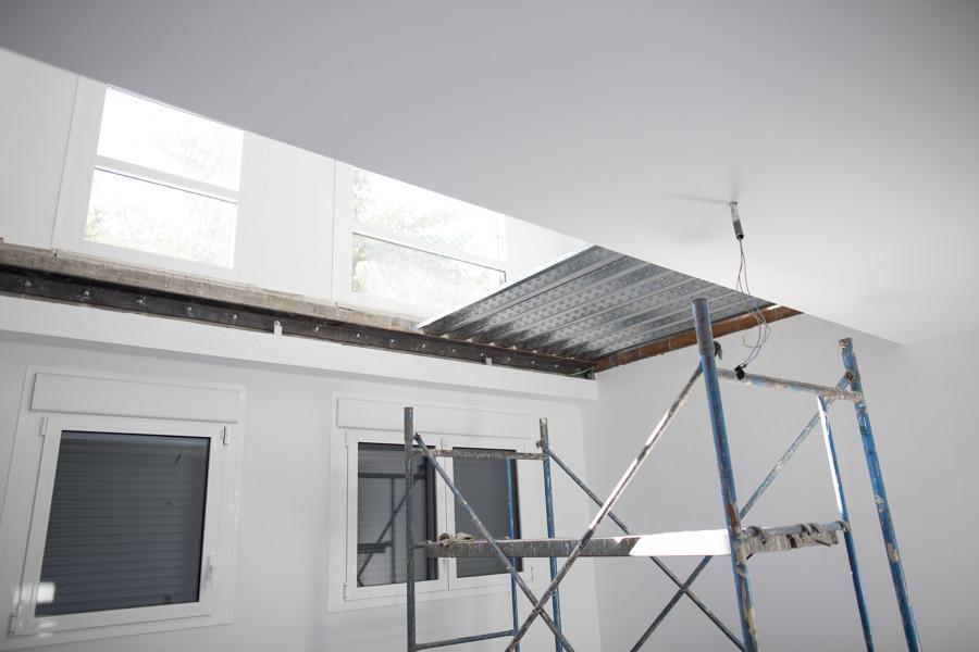Ejecución de altillo para ampliación dormitorios