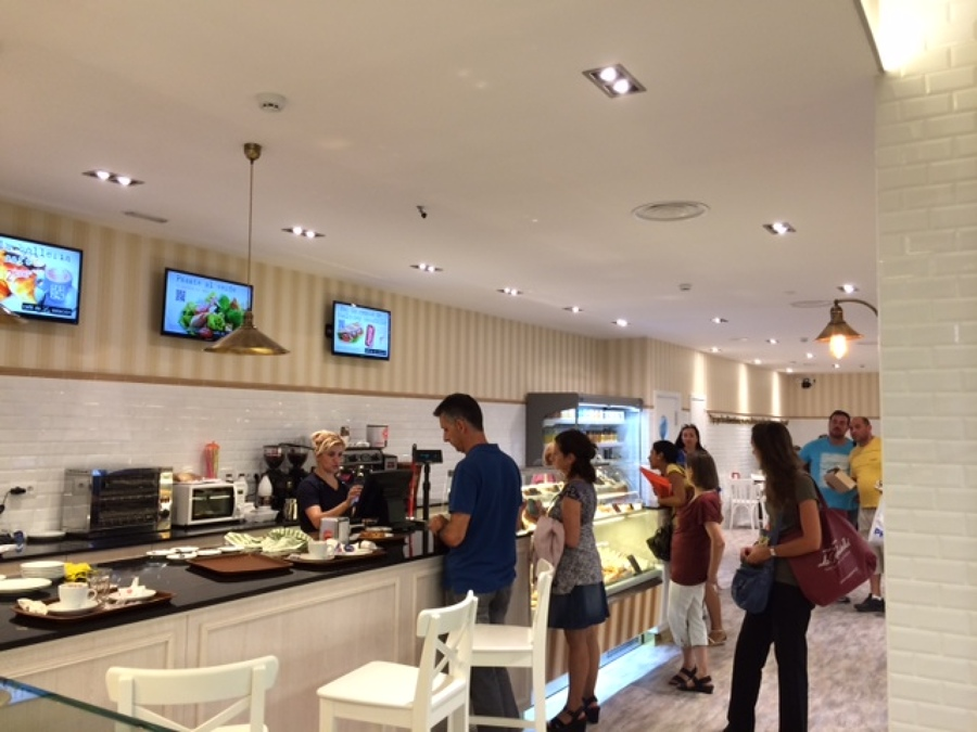 Cafeteria en la estacion de chamartin ideas reformas for Proyecto cafeteria escolar