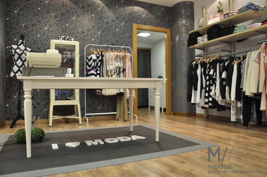 Proyecto de dise o de interiores y reforma de tienda for Disenos de interiores para negocios
