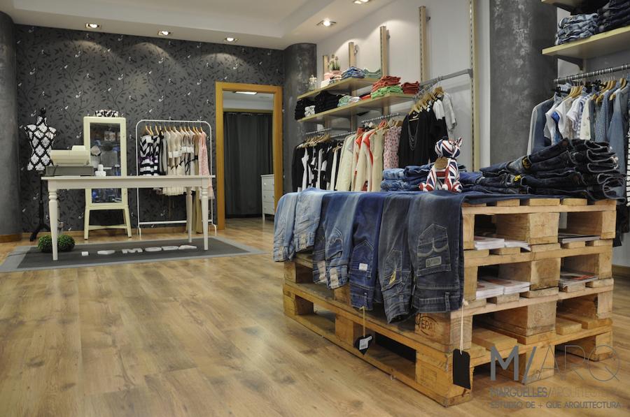 Proyecto de dise o de interiores y reforma de tienda for Diseno de interiores vintage