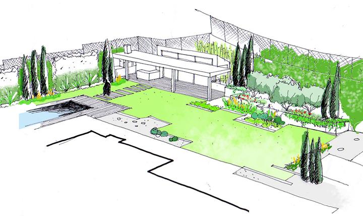 Proyectos de dise o de jardines ideas paisajistas for Proyecto jardineria
