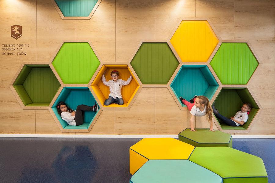 Proyecto de interiorismo: King Solomon School