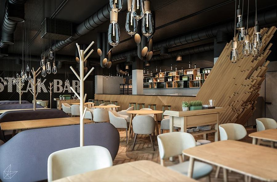 Proyecto de interiorismo: Steak Bar