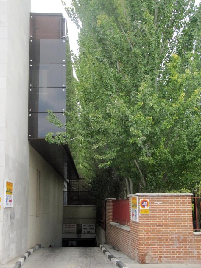 Proyecto de obra de aparcamiento valdemoro