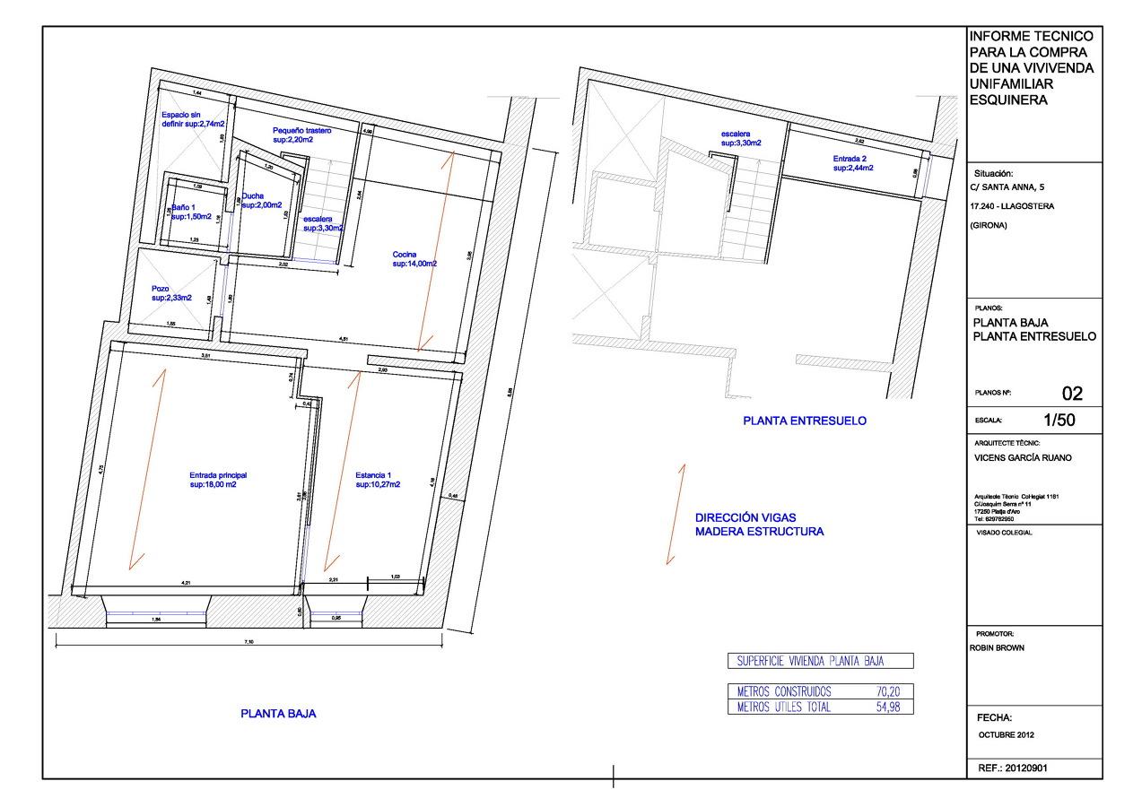Proyecto de reforma vivienda casco antiguo