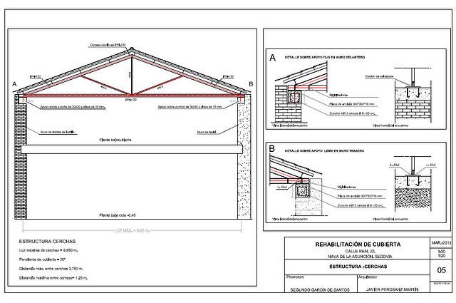 Proyecto de reparación de fachada y cubierta.