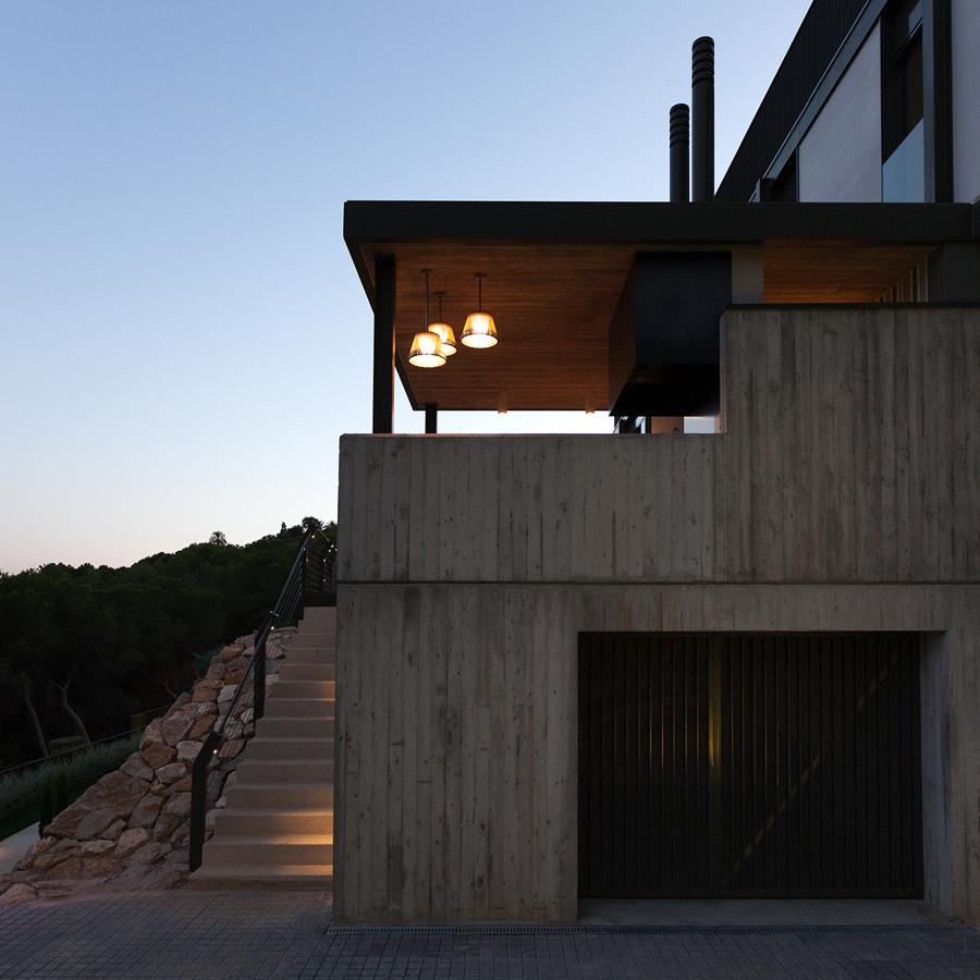 Proyecto de vivienda unifamiliar aislada CASA EL BOSQUE 161. Valencia