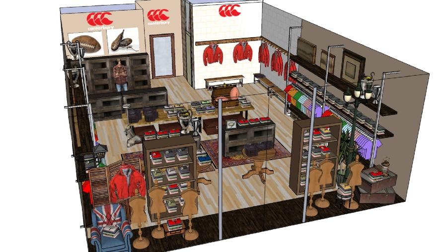Zen Decoracion Fuenlabrada ~ Foto Proyecto Decoracion 3D de Tienda de Ropa Canterbury de Zen Dec?