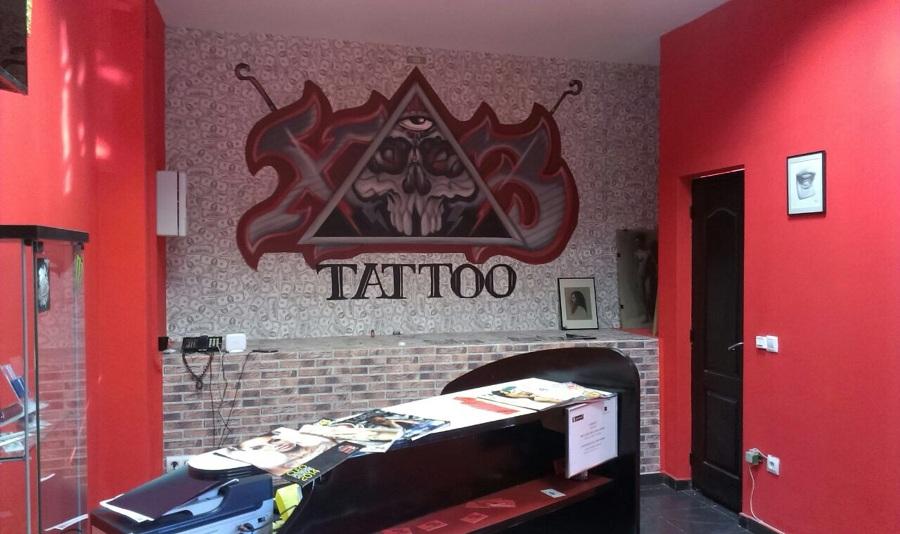 Proyecto Estudio de Tatuajes Xtres Tattoo