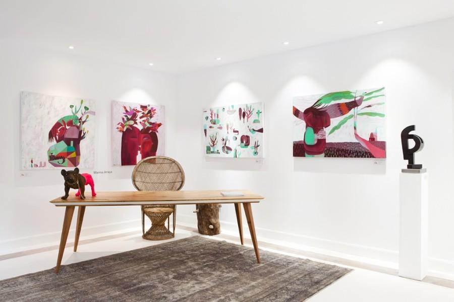 "Proyecto de decoración: ""Galería de Arte Concepción Morello en Casa Decor"""