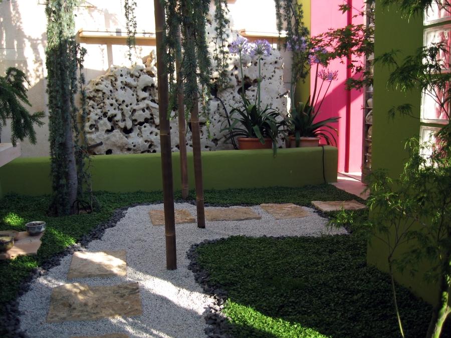 Foto proyecto jardin 1 de obras y reformas en madrid for Proyecto jardineria