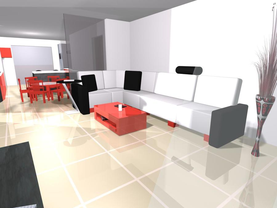 Proyecto dise o loft desde cero dise o de interiores for Diseno de lofts interiores