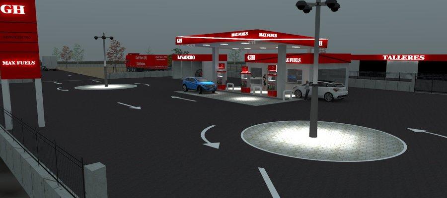 Proyecto nueva gasolinera