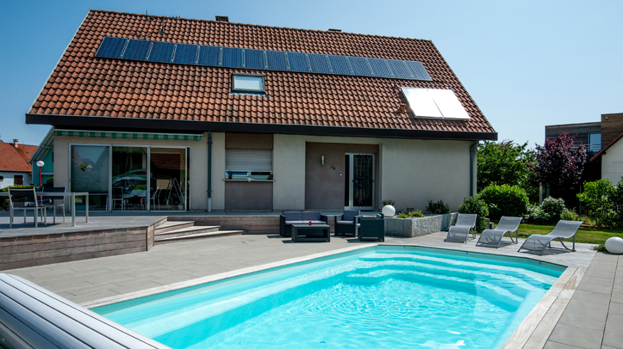 El incre ble antes y despu s de 4 piscinas ideas decoradores - Piscine dans petit jardin ...