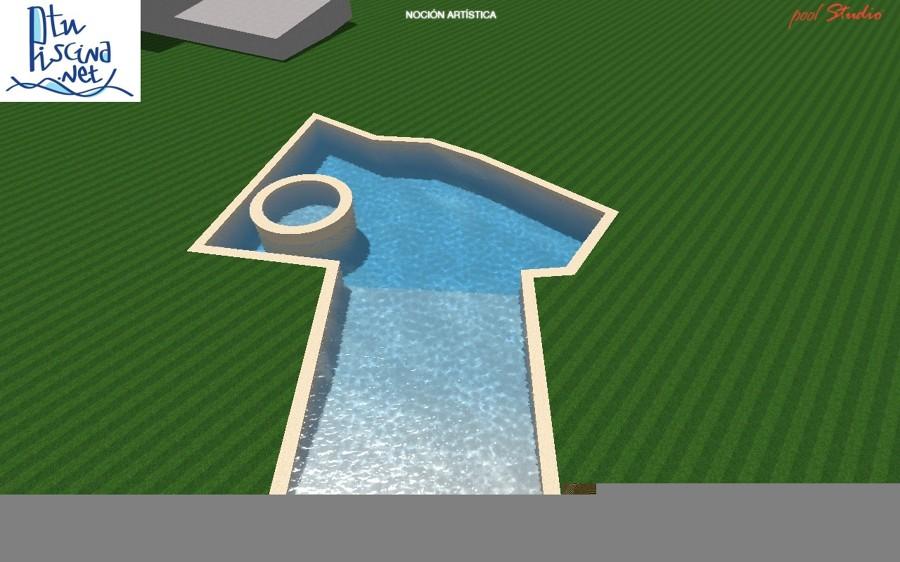 Proyecto piscina irregular