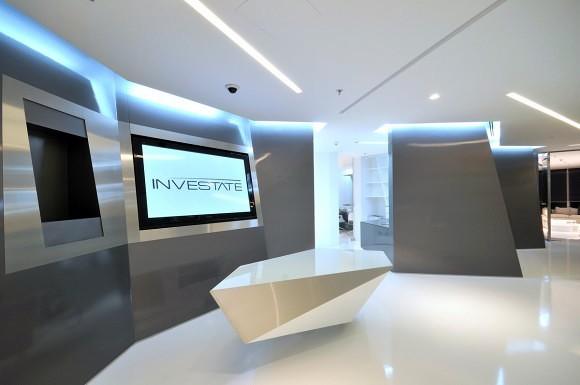 Foto proyecto recepci n de espacio aretha 242847 for Disenos de oficinas modernas gratis