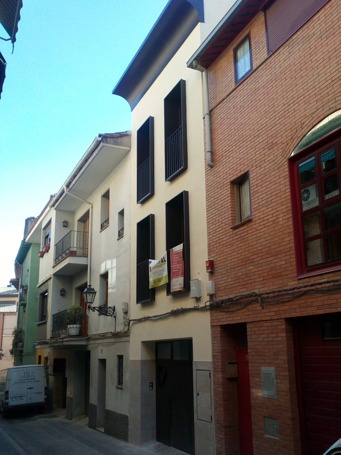 Proyecto Rehabilitación Vivienda Unifamiliar calle Canellas nº 19 de Huesca