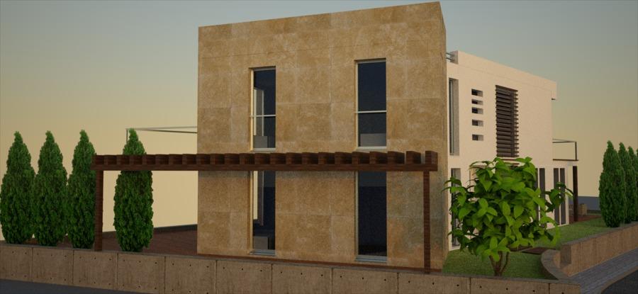 Proyecto vivienda alzado