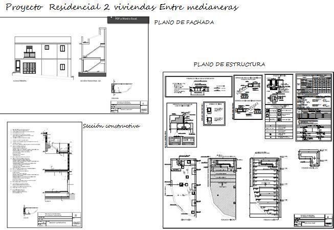 Proyecto residencial vivienda entre medianeras ideas - Vivienda entre medianeras ...