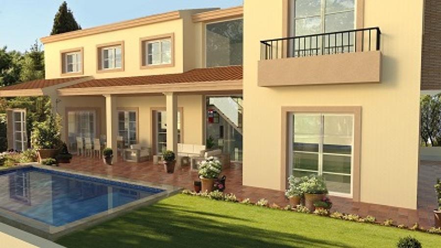 proyecto vivienda estilo clasico