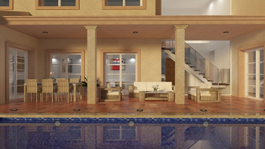 proyecto vivienda estilo clásico