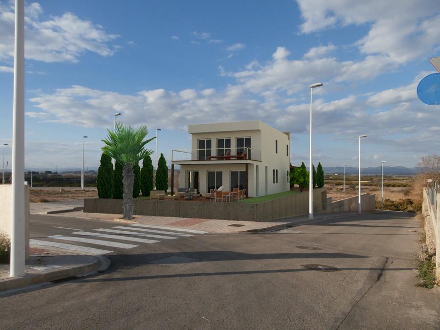Proyecto vivienda integración parcela