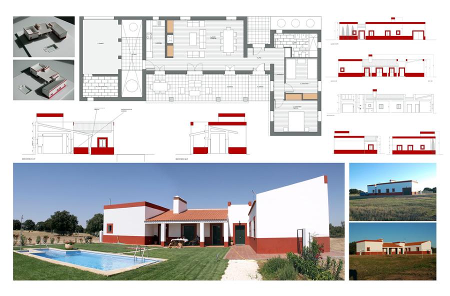 Proyecto Arquitectura para una Vivienda Unifamiliar en Badajoz
