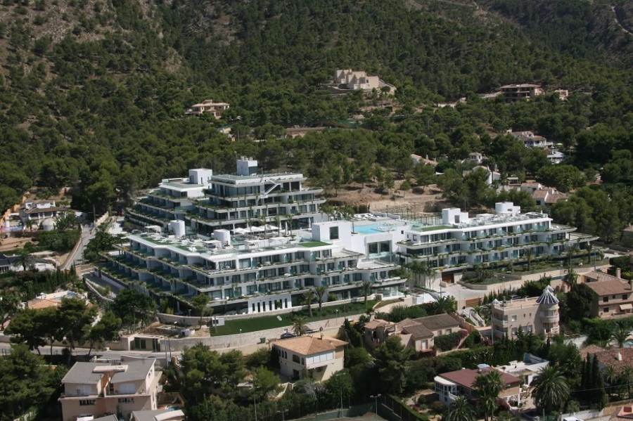 Proyecto y direcci n de obra albir center ideas ingenieros - Hotel sha wellness clinic ...