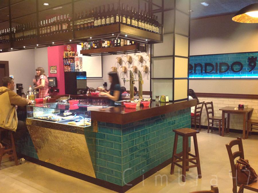 Reforma de local comercial en burgos ideas reformas - Proyecto bar cafeteria ...