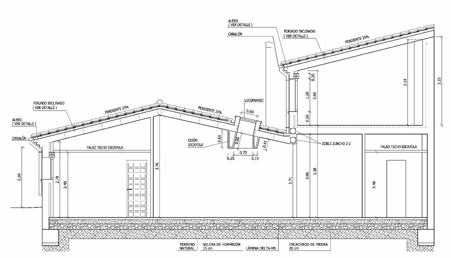 proyecto y obra de demolición y construccion de ampliación de un Ayuntamiento.