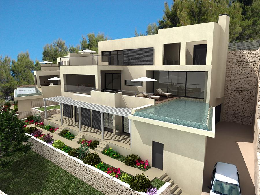 Proyectos de viviendas unifamiliares por arquitectos madrid 2 0 ideas arquitectos - Arquitectos casas modernas ...