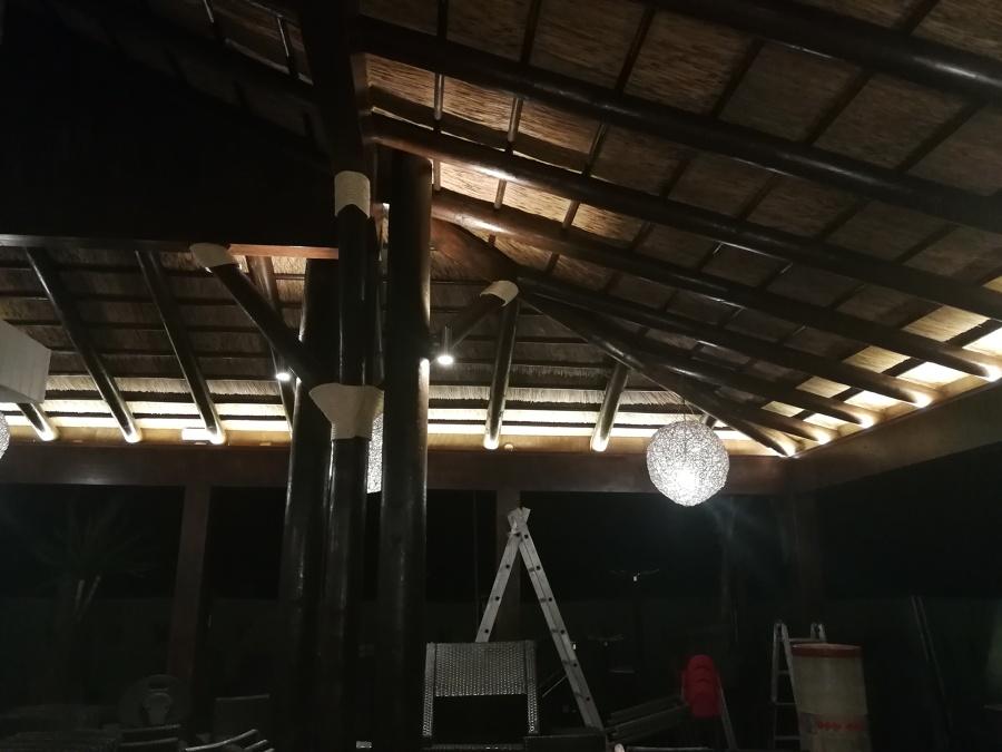 Pruebas de iluminación