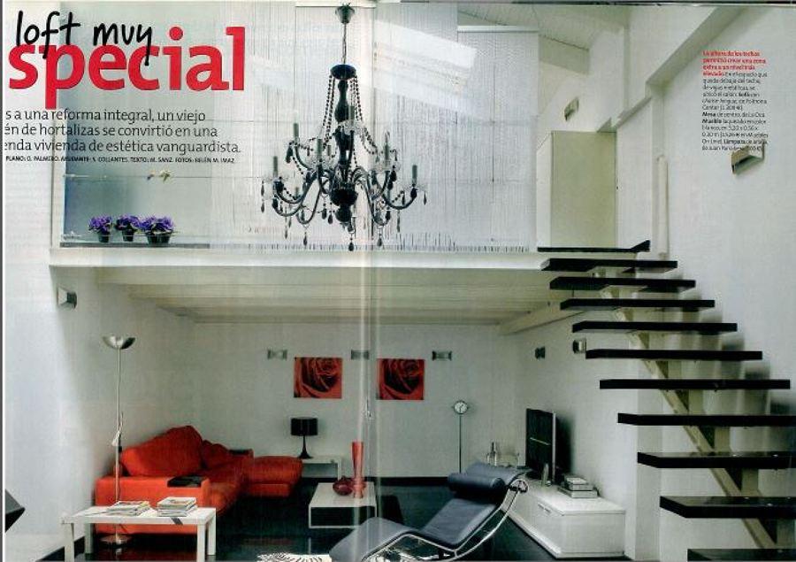 publicación en revista de decoración