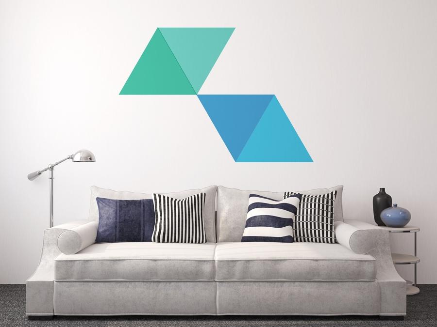 Puedes optar por dibujos definidos o por otros más abstractos